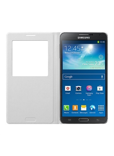 Samsung Samsung N9000 Galaxy Note 3 Uyumlu SView Cover Orjinal Telefon Kılıfı Renkli